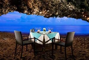 サマベでロマンティックディナー
