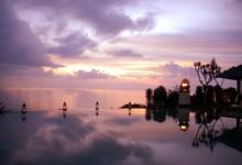 ウルワツ寺院+ティルタ でロマンチックフレンチ